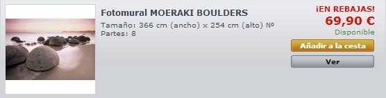 Fotomural Moeraki Boulders 285