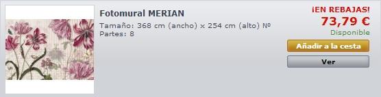 Fotomural Merian 8-510