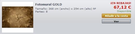 Fotomural Gold 8-703
