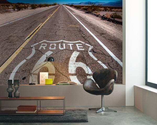 Fotomural Profundidad Carretera Ruta 66