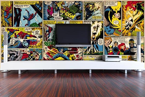 Fotomural Comic - Papel Pintado