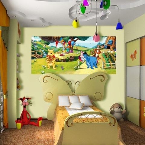 Fotomural Infantil Winnie The Pooh