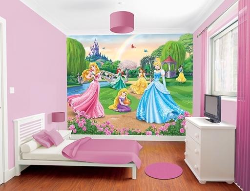Murales Para Paredes de Princesas