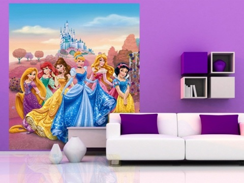 Fotomural Disney Princesas NUEVO
