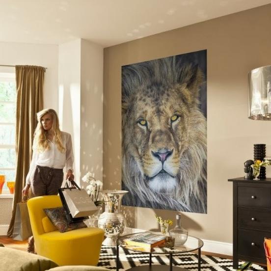Fotomural 1-619 Lion - Komar Gallery - 29,43 €