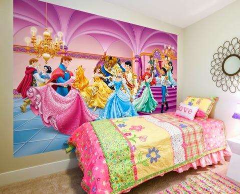 Fotomural FTDS1928 Princesas Disney