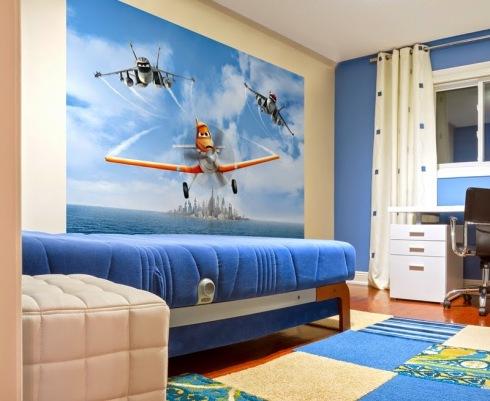 Fotomural FTDS1927 Disney Aviones
