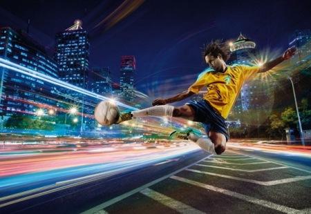 Fotomural 8-953 Street Soccer