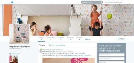 Papel Pintado Infantil Twitter