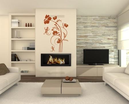 Vinilo Floral FL094