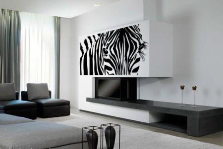 Vinilo Moderno Zebra MO119