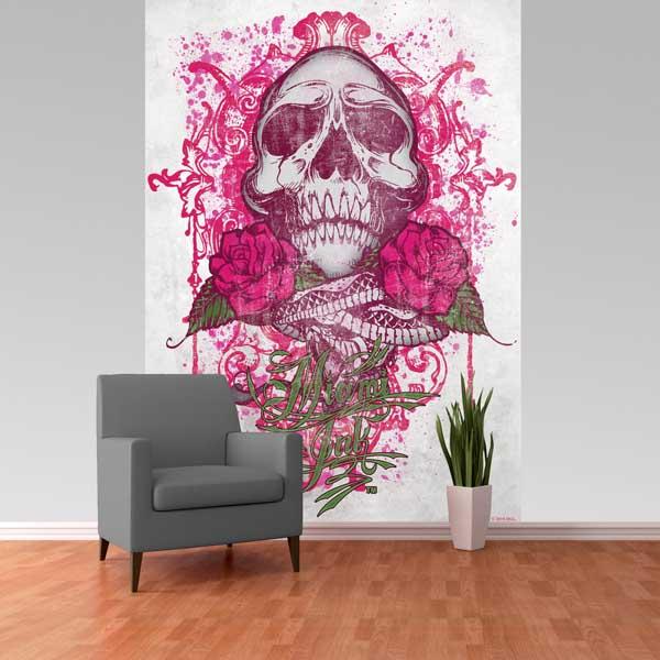 Mural miami ink - Fotomurales Baratos