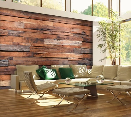 Fotomural 150 Wooden Wall - SOLO 69,90 €